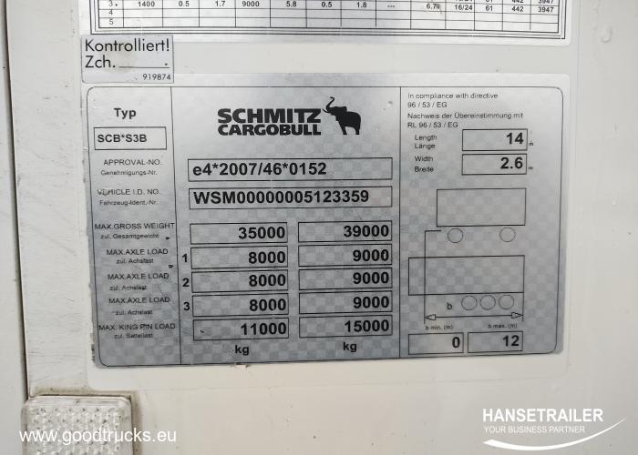 2014 Полуприцеп Рефрижераторы Schmitz SKO 24 FP60