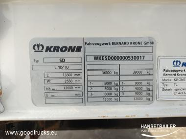 Krone SDP Lift axle