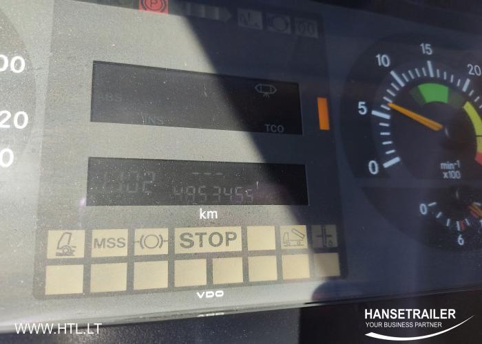 2003 Вантажівка Рефрижератори Mercedes-Benz 815