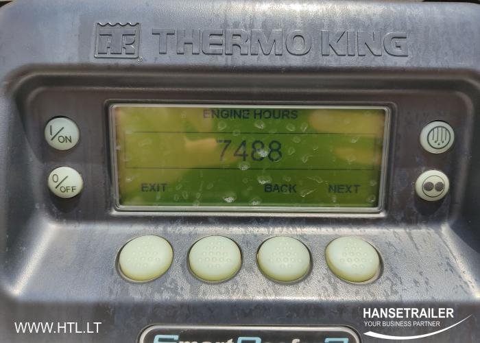 2014 Puspiekabe Refrižerators Krone SDR27 Multitemp Dopplestock Doubledeck
