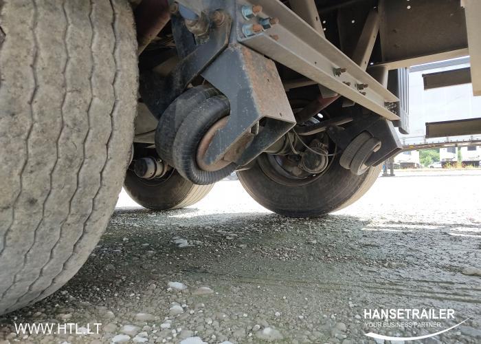 2013 Полуприцеп Тентованные Schmitz SCS 24/L Lifting Axle
