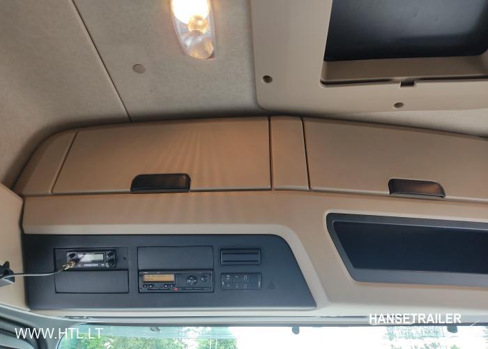 2015 Vilkikas 4x2 Mercedes-Benz Actros 1845 LS MEGA