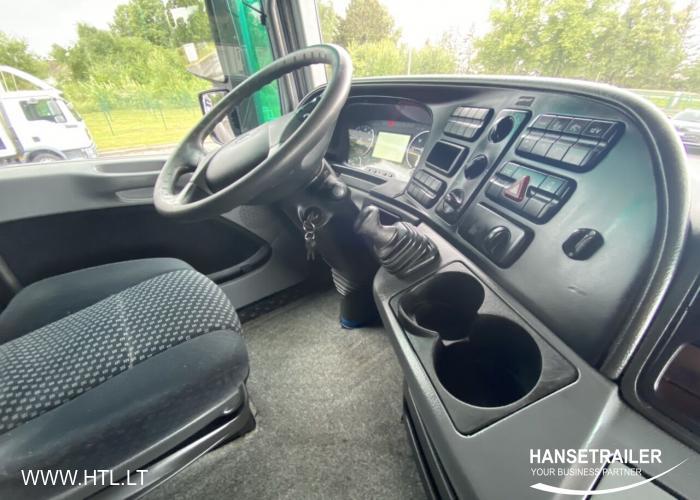 2012 Autovilciens Gardīne Mercedes-Benz Actros2544 Kompletzug Wielton