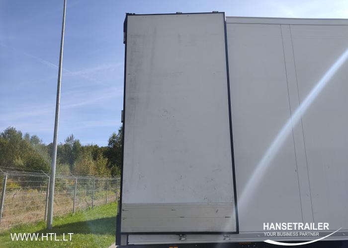 2016 Puspiekabe Refrižerators Schmitz SKO 24 2700mm Inside